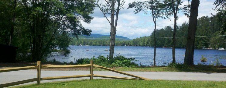 Loon Lake -- view from Adirondack Stone Lodge on Blythewood Island